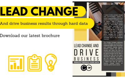 Lead change and drive business results through hard data