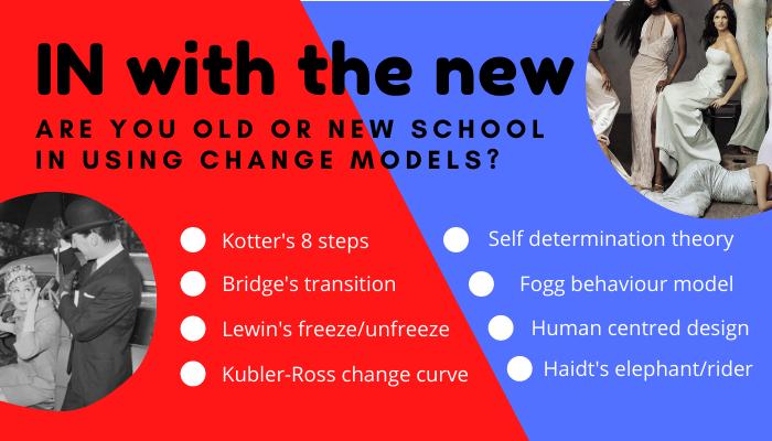 New vs. old change management models