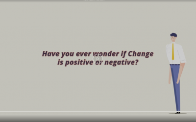 Positive or negative change
