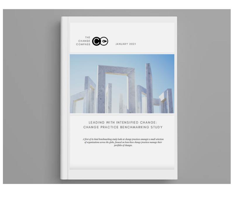 Change practices benchmarking report